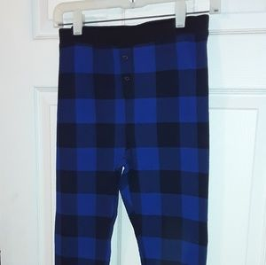 Old Navy thermal pj pants